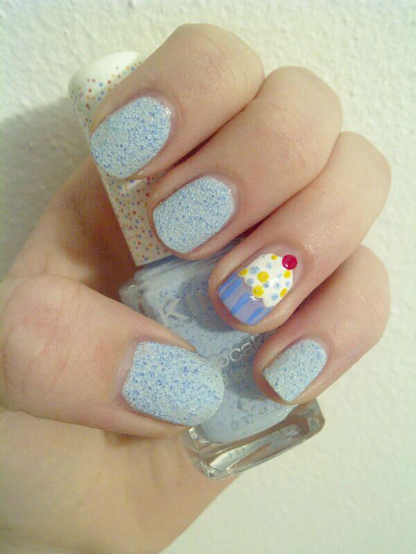 Cupkake Nail Art
